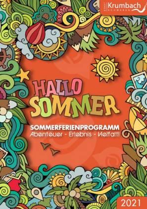 Cover Sommerferienprogramm